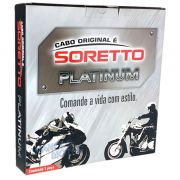 """Cabo Soretto Platinum Acelerador """"A"""" Harley Davidson Dyna Fat Bob FXDF"""