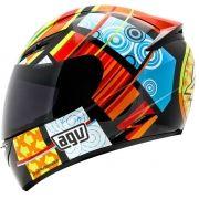 Capacete AGV K3 Elements Valentino Rossi