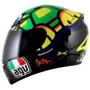 Capacete AGV K3 Turtle Valentino Rossi