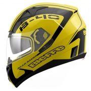 Capacete Bieffe B-40 Road Racer Amarelo/Preto