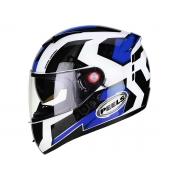 Capacete Peels Icon Dash Branco/Azul