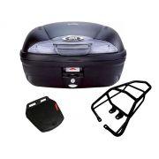Baú E450NT + bagageiro GIVI CG 150 fan / CG 160 Fan/Start