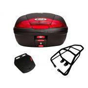 Baú E450N + bagageiro GIVI CG 150 fan / CG 160 Fan/Start