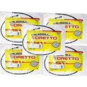 Kit de cabos originais soretto XT 600E 1993 a 1994