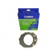 Kit Disco de Embreagem Cobreq NX 200 / XR 200 / CBX 200 Strada