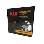 Kit relação DID completo extra premium com retentor DL 1000 V-Strom