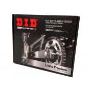 Kit relação DID completo premium com retentor NXR Bros 160 / XRE 190