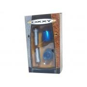 Peso de guidão Oxxy Alumínio Cone (Azul)