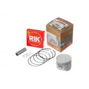 Pistão motor KMP com anel RIK Turuna 125 / ML 125 OHC (1.00)