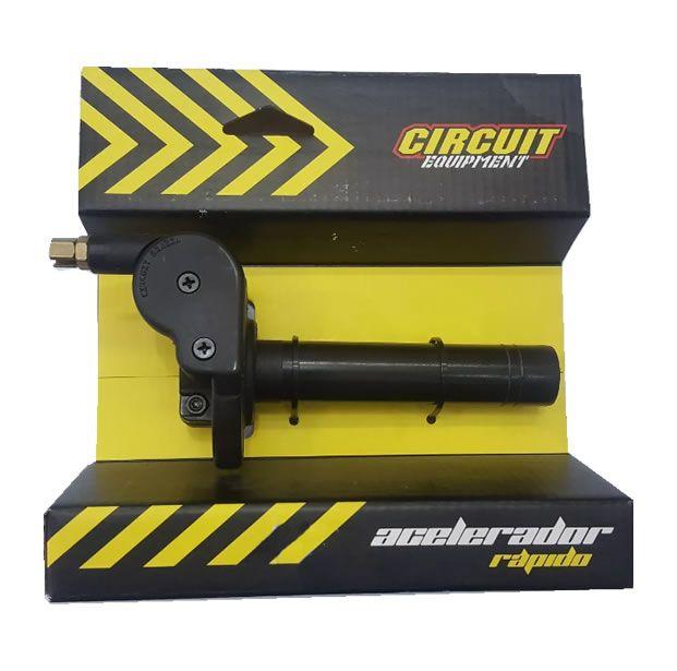Acelerador Punho Rápido Circuit + Cabo  - Manolo Motos
