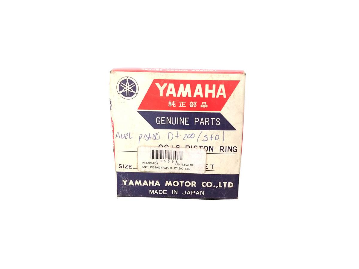 Anel pistão Yamaha DT 200  - Manolo Motos
