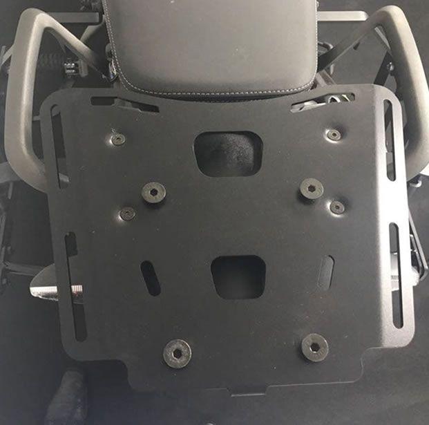 Bagageiro Bráz para Bauleto TIGER 800  - Manolo Motos