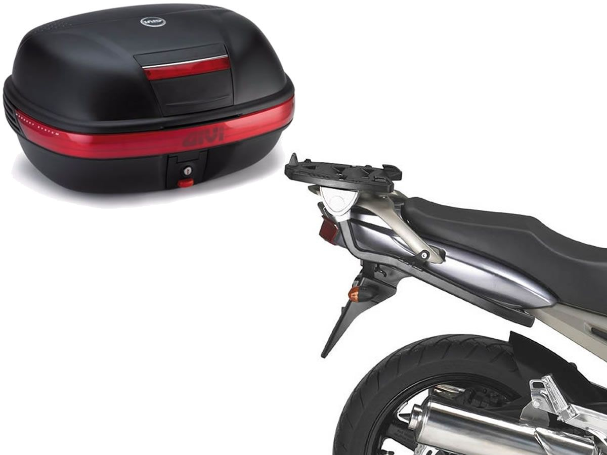 Baú GIVI Central Monokey 46L + monorack + Base TDM 900  - Manolo Motos