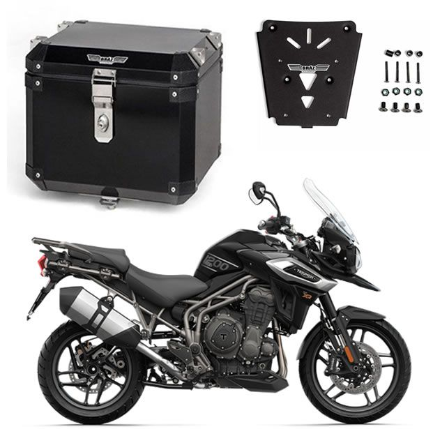 Bauleto Central Braz Atacama 43l Preto + Base Tiger 1200