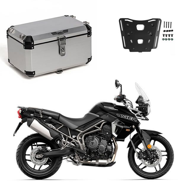 Bauleto Central Braz Atacama 55L Escovado + Base Tiger 800