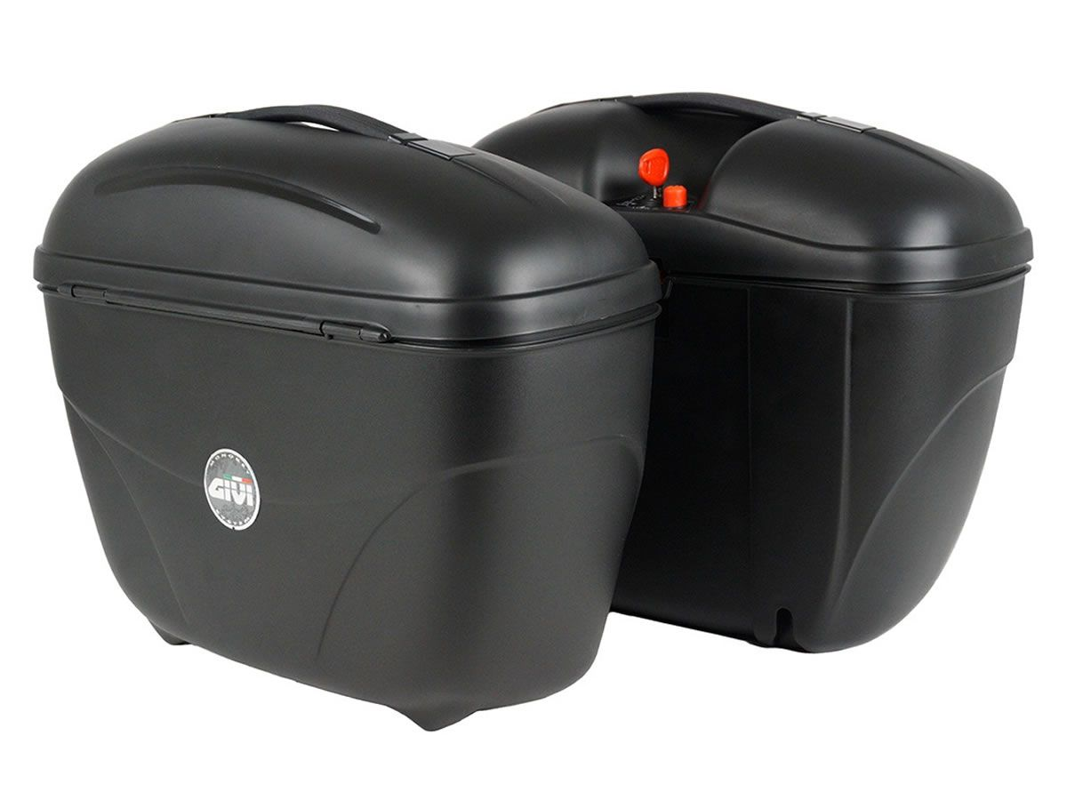 Bauleto Givi MonoKey Lateral E21N 21 Litros Par  - Manolo Motos