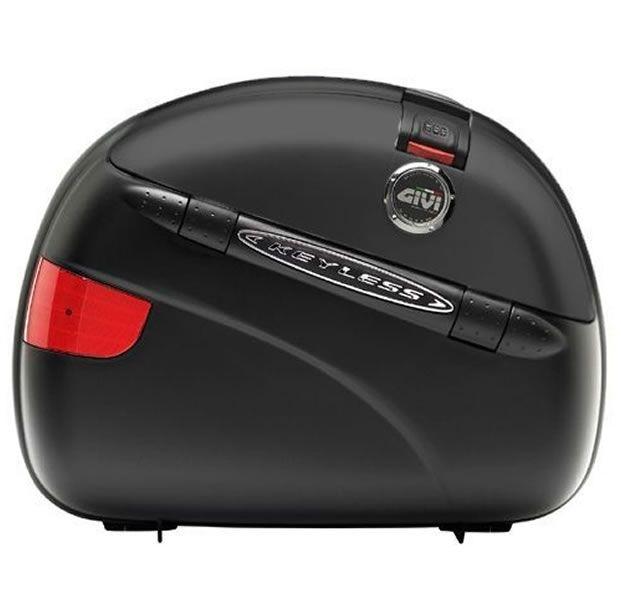Bauleto Givi MonoKey Lateral E41NN KeyLess Black 41 Litros PAR  - Manolo Motos