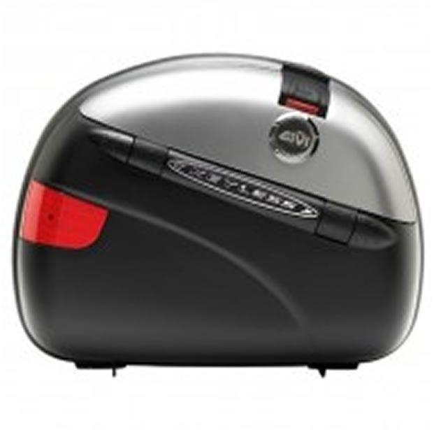 Bauleto Givi MonoKey Lateral E41N KeyLess Silver 41Litros PAR  - Manolo Motos