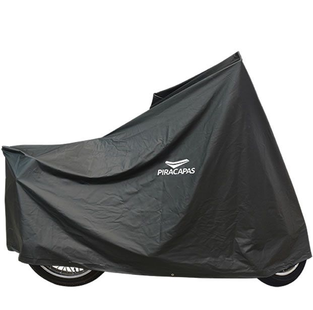 Capa Para Cobrir Moto Piracapas Pvc Impermeável  - Manolo Motos