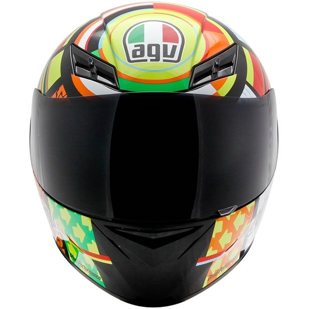 Capacete AGV K3 Elements Valentino Rossi  - Manolo Motos