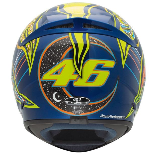Capacete AGV K3 Five Continents Valentino Rossi  - Manolo Motos