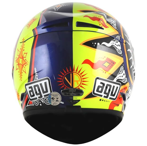 Capacete AGV K3 Suzuka 02 Valentino Rossi  - Manolo Motos