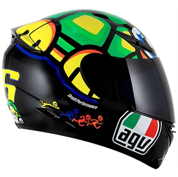 Capacete AGV K3 Turtle Valentino Rossi  - Manolo Motos