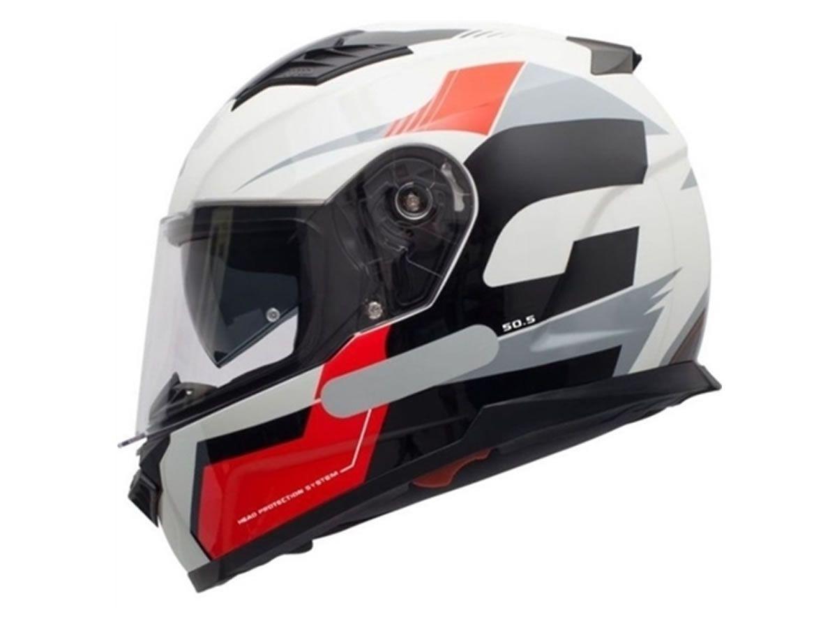 Capacete GIVI 50.5 Sport Preto/vermelho  - Manolo Motos