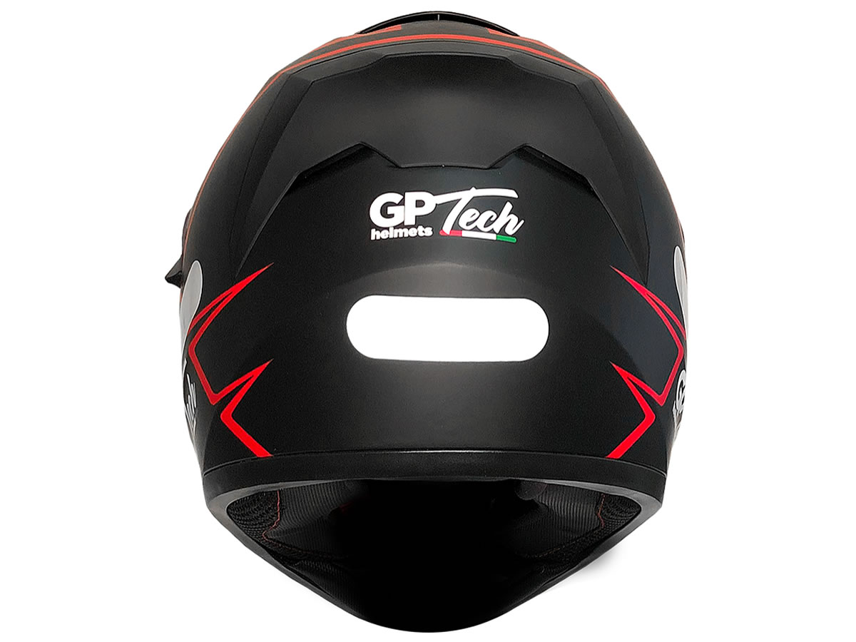 Capacete Integral GP Tech Rapid SV 128 Preto Fosco - Manolo Motos