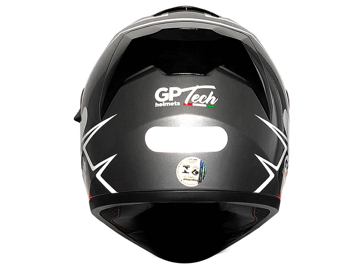 Capacete Integral GP Tech Rapid SV 128 Titanium  - Manolo Motos