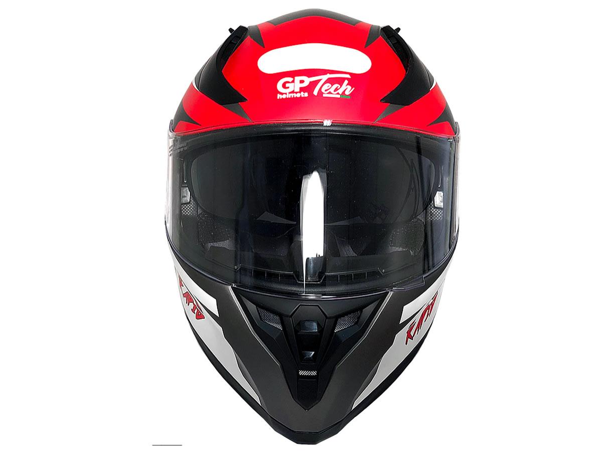 Capacete Integral GP Tech Rapid SV 128 Titanium Fosco  - Manolo Motos