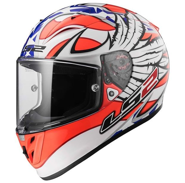 Capacete LS2 FF323 Arrow R Freedom  - Manolo Motos