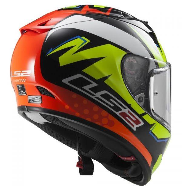 Capacete LS2 FF323 Arrow R Isaac Vinales  - Manolo Motos