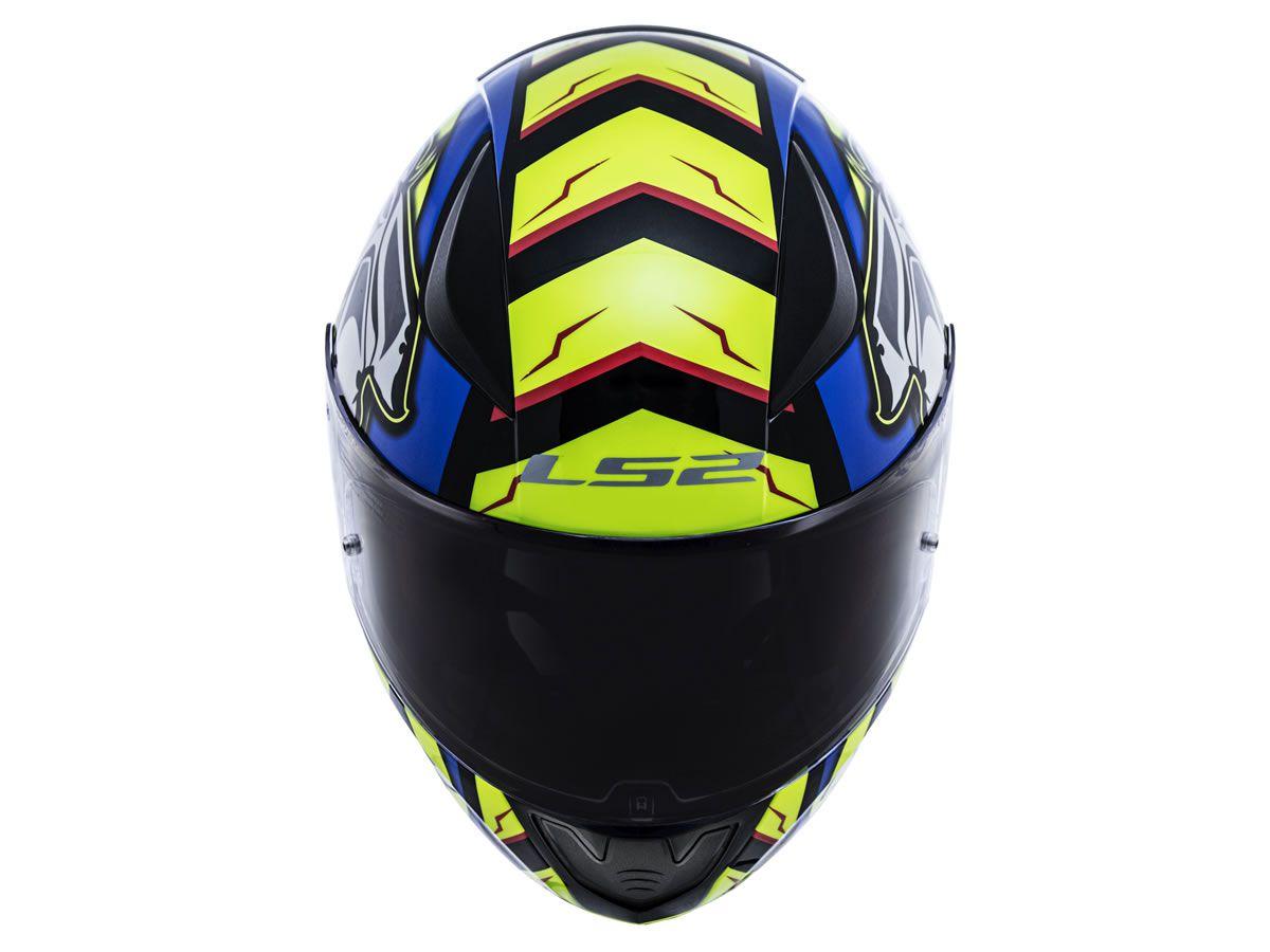 Capacete LS2 FF353 Rapid Alex Barros Azul  - Manolo Motos