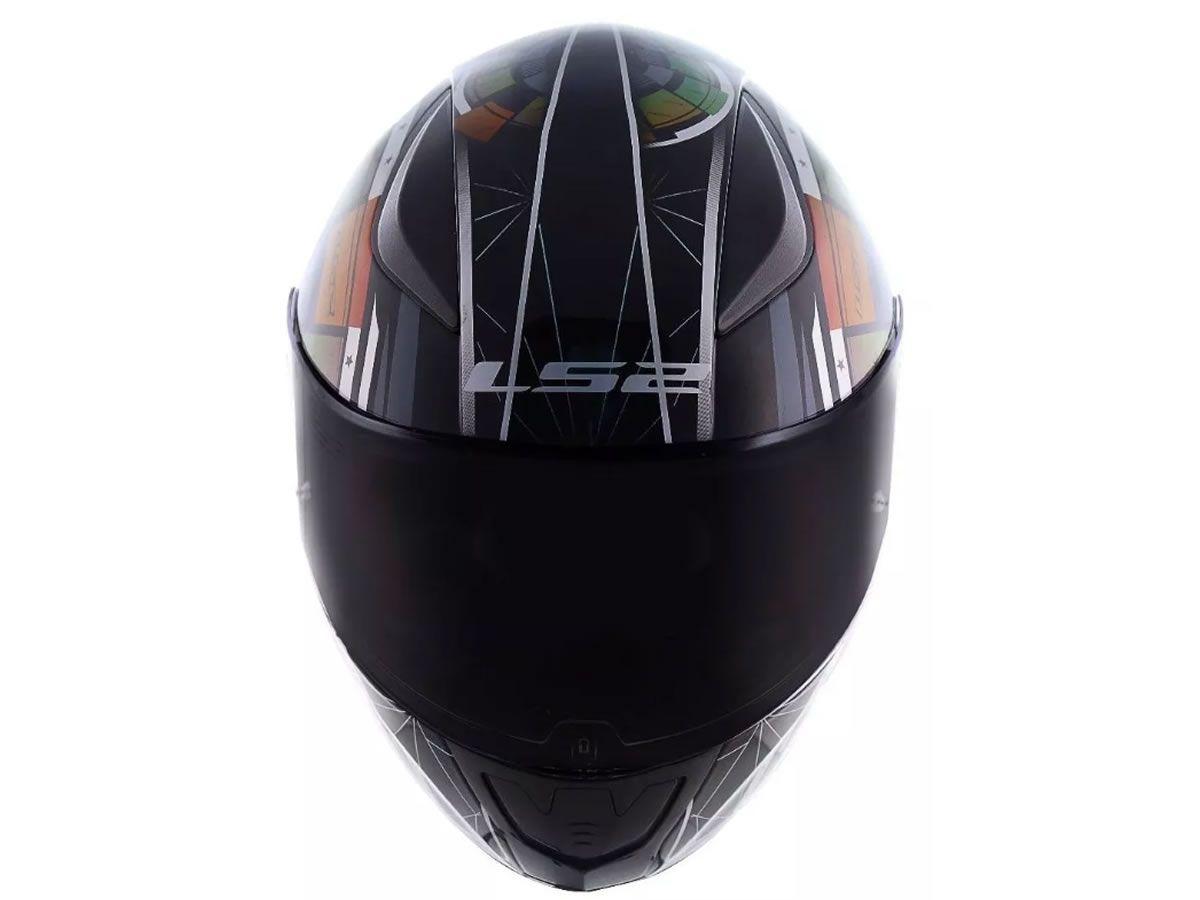 Capacete LS2 FF353 Rapid Tech Camaleão  - Manolo Motos