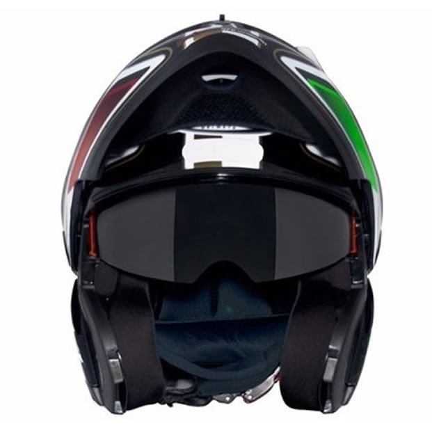 Capacete MT Optimus SV Italy (Escamoteável)   - Manolo Motos
