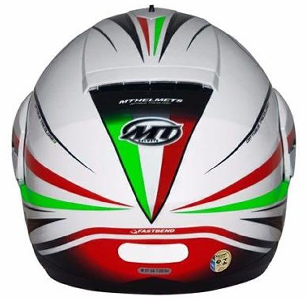 Capacete MT Optimus SV Tricolore Italy (Escamoteável)   - Manolo Motos