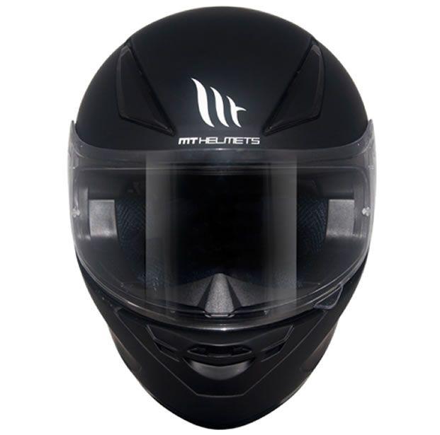 Capacete MT Revenge Mono Preto Fosco  - Manolo Motos