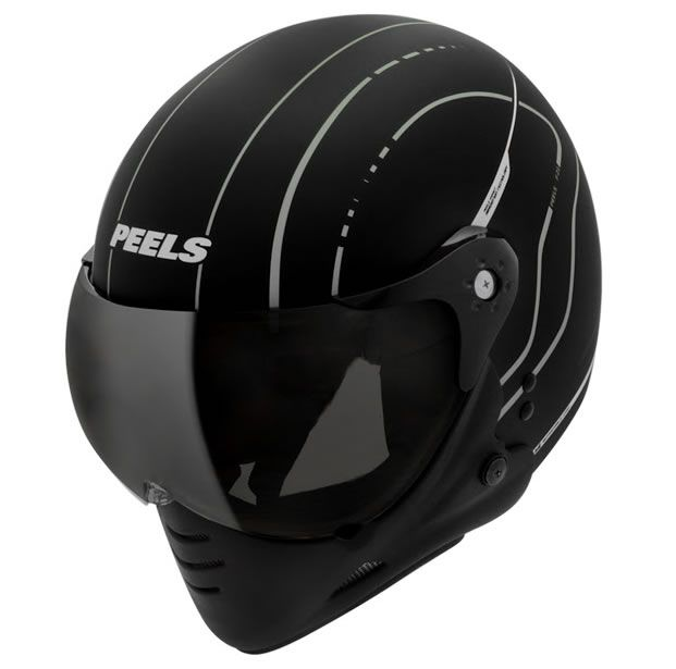 Capacete Peels F21 TechLine Preto Fosco/Grafite   - Manolo Motos