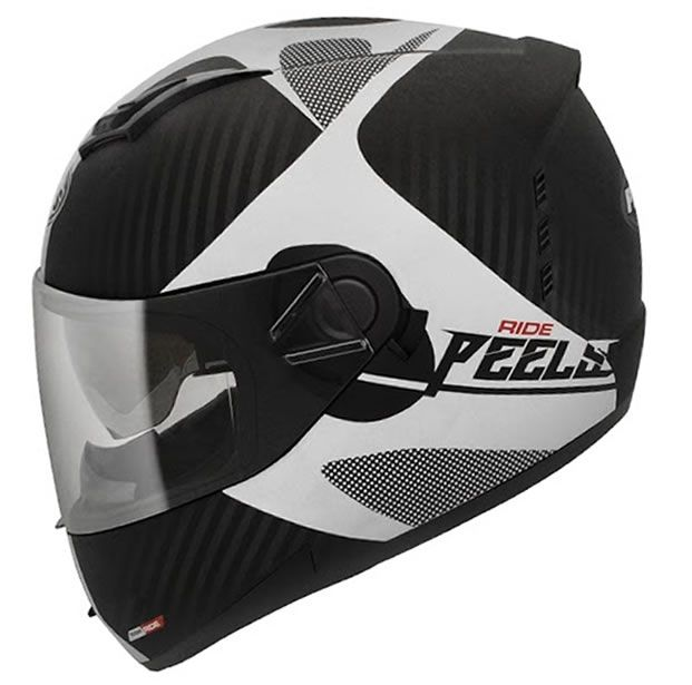 Capacete Peels Icon Ride Preto Fosco/Grafite Com Viseira Interna  - Manolo Motos