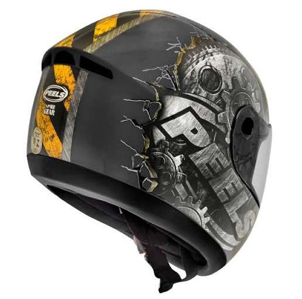 Capacete Peels Spike Gear Chumbo/Grafite  - Manolo Motos