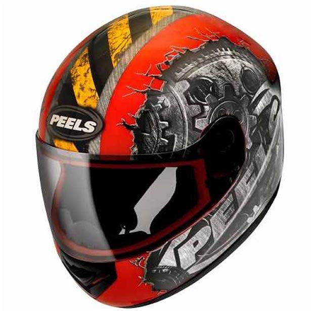 Capacete Peels Spike Gear Vermelho/Grafite  - Manolo Motos