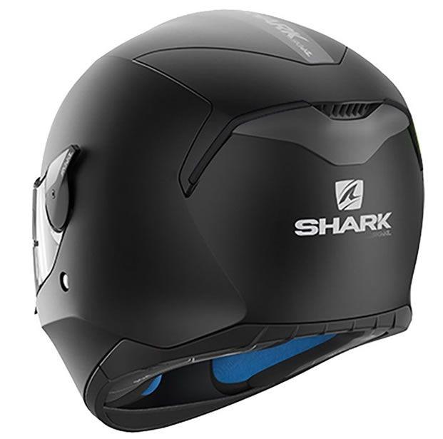 Capacete Shark D-Skwal Blank Matt KMA Preto Fosco  - Manolo Motos