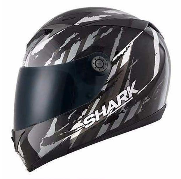 Capacete Shark S700 Oxyd KUA + Brinde Viseira Fumê  - Manolo Motos