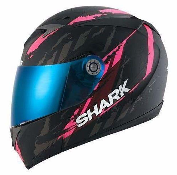 Capacete Shark S700 Oxyd Matt KPA + Brinde Viseira Fumê  - Manolo Motos