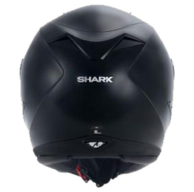 Capacete Shark S700 Prime Black Preto Brilhante   - Manolo Motos