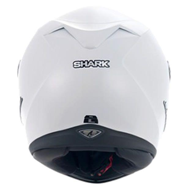 Capacete Shark S700 Prime WHU Branco Brilhante  - Manolo Motos