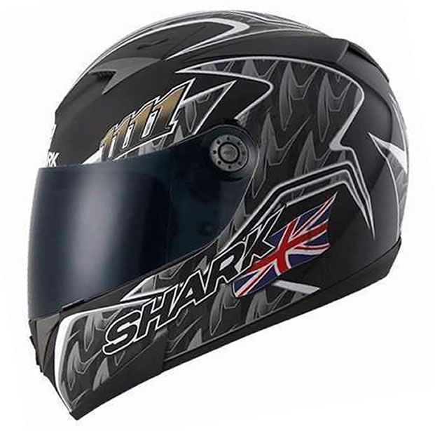 Capacete Shark S700 Réplica Foggy 20TH Birthday KBS + Brinde Viseira Fumê  - Manolo Motos