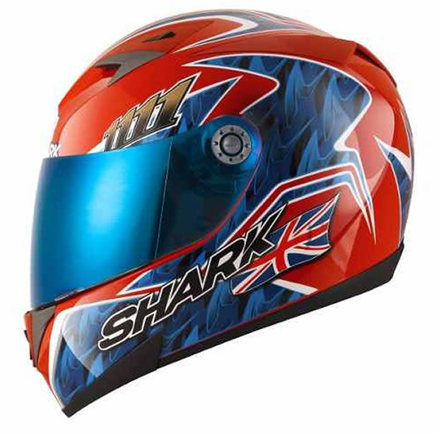 Capacete Shark S700 Réplica Foggy 20TH Birthday RBA
