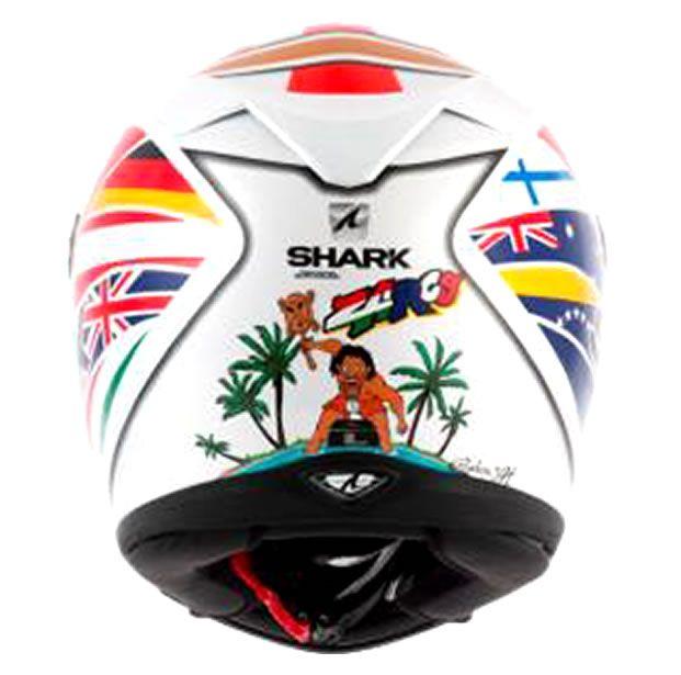 Capacete Shark S700 Réplica Johann Zarco WOR  - Manolo Motos